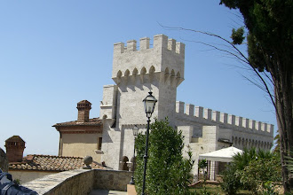Photo: The castle we stayed at in Sienna, Italy