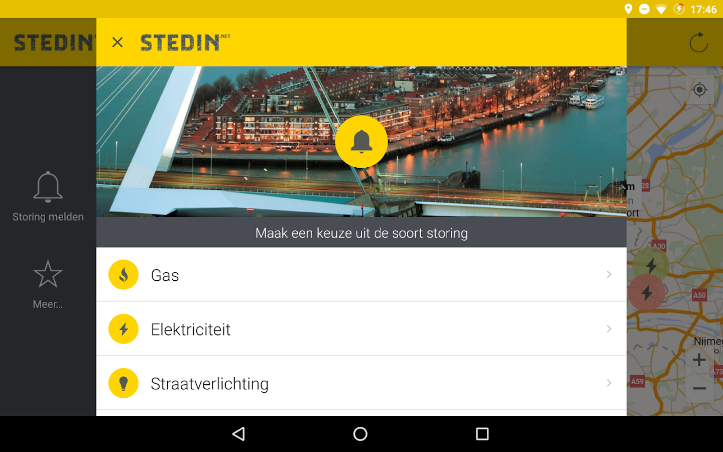 Stedin- screenshot