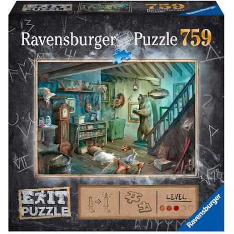 Puzzle EXIT 8: Creepy Cellar