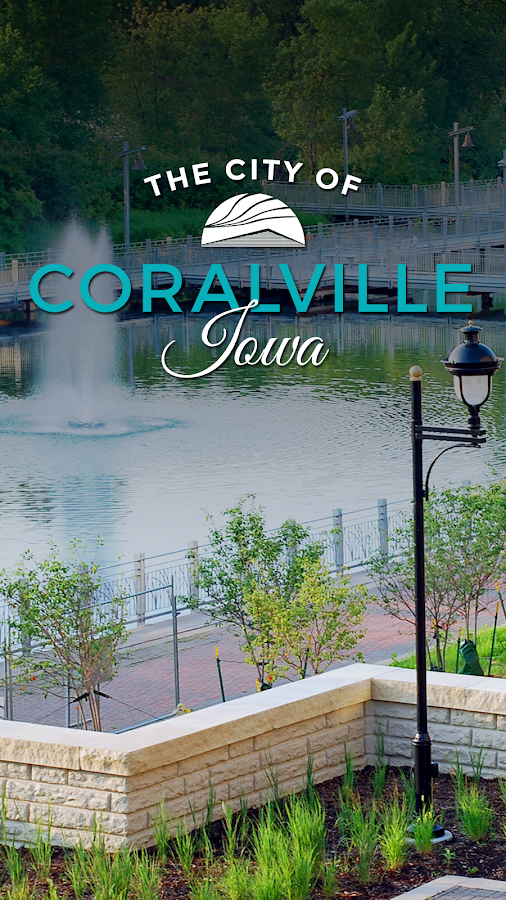 City of Coralville IA- screenshot
