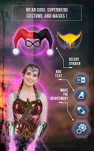 Superhero Photo Editor for PC-Windows 7,8,10 and Mac apk screenshot 4
