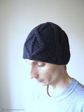 Photo: мужская вязаная шапка Кельт