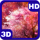 Purple Cherry Blossoms Spring Wind icon