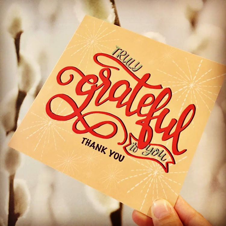 Truly grateful to you. Thank you by Emma5