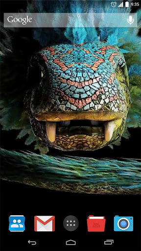 Snake Monster Live Wallpaper