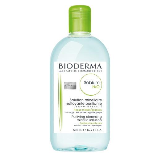 crema facial sebium h2o bioderma 500 ml