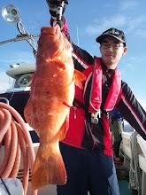 Photo: やったぜー! 高級魚!スジアラキャッチです。