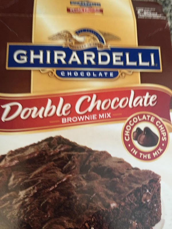In a large bowl.  Pour in the brownie mix. Add the cocoa and...