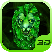 King of Green Lion 3D Theme
