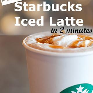 Starbucks Skinny Iced Latte - Copycat