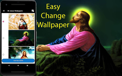 3D Jesus  Wallpaper 92.0 screenshots 2