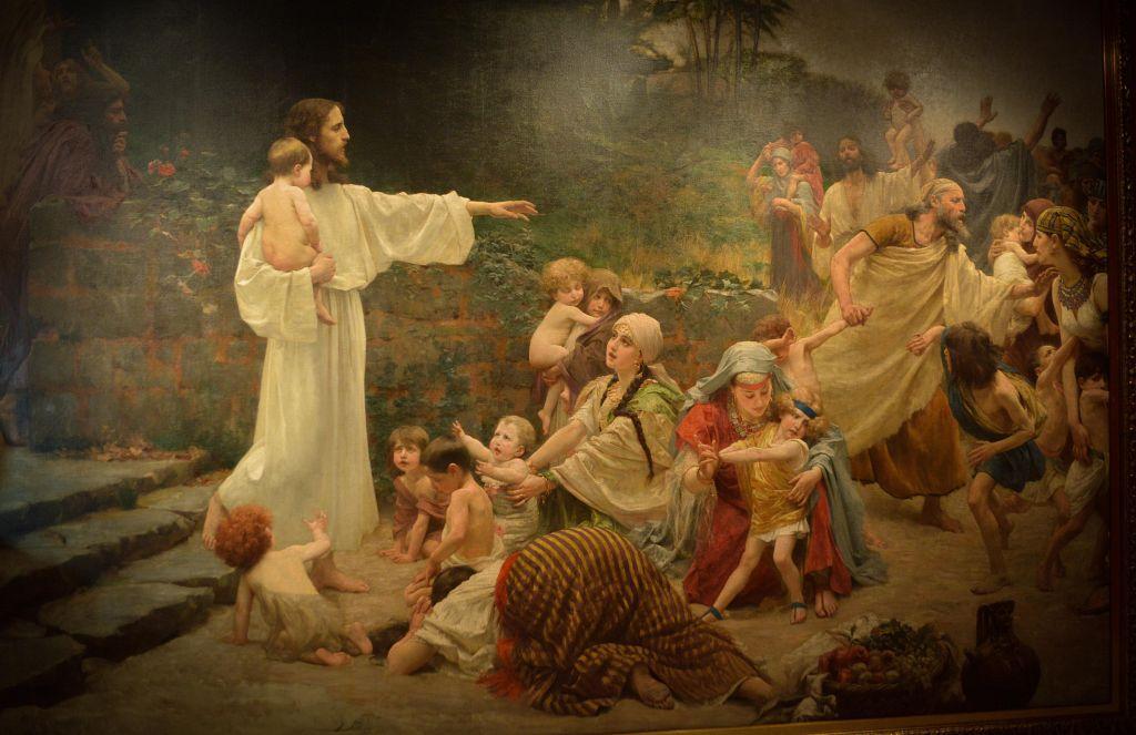 Isus prijatelj malenih - Bukovčevo remek-djelo iz franjevačkog samostana u  Tomislavgradu na izložbi u Klovićevim dvorima – narod.hr