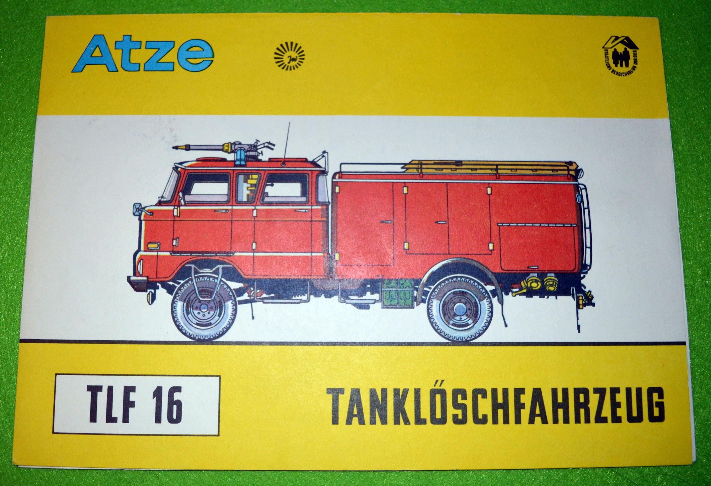 Atze Tanklöschfahrzeug