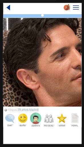 QueContactos Dating in Spanish Screenshot