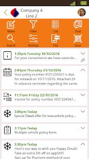AppSay - náhled