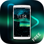 Aurora lights Live Wallpaper