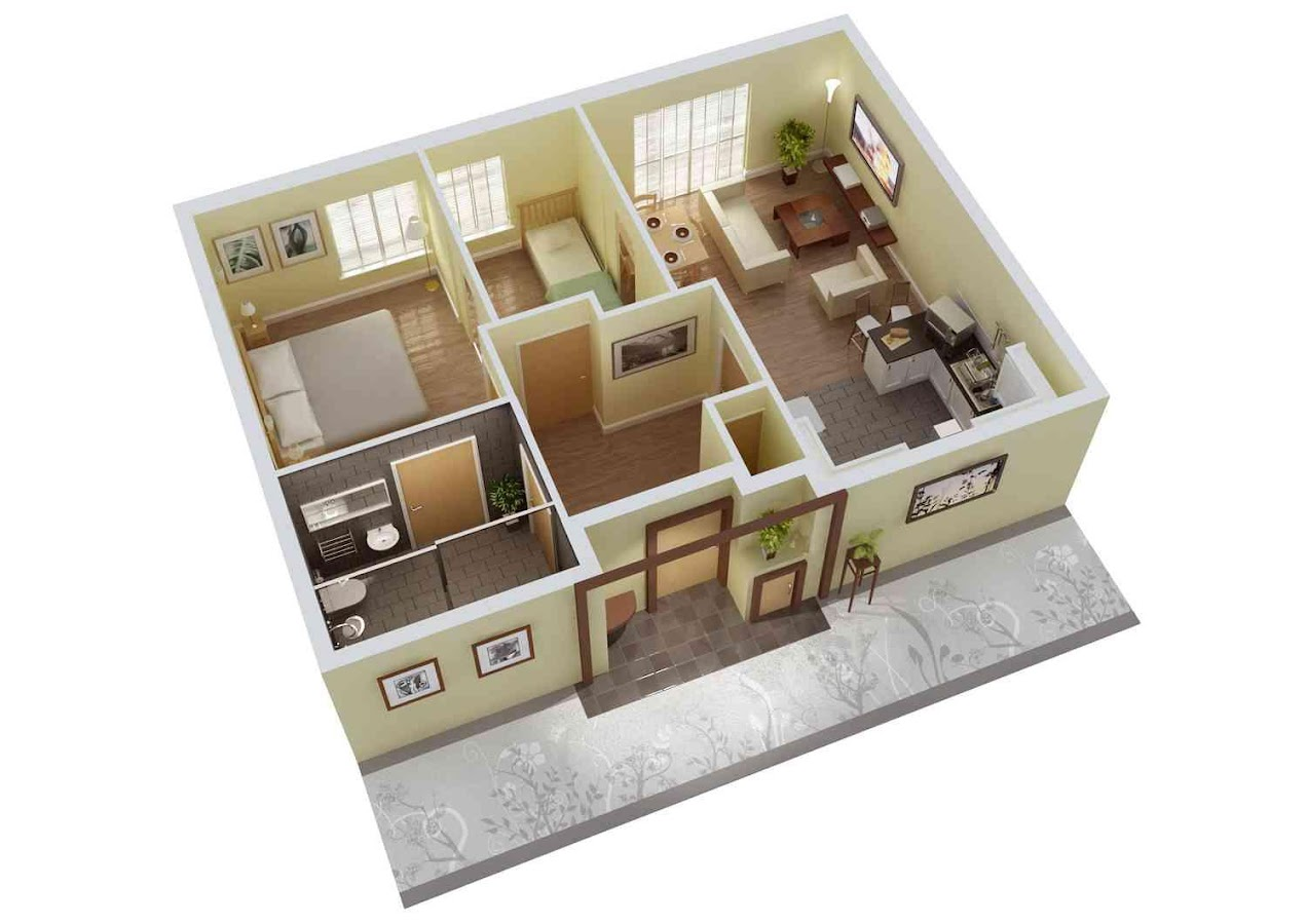 3d home floor plan ideas screenshot - 3d Home Floor Plan
