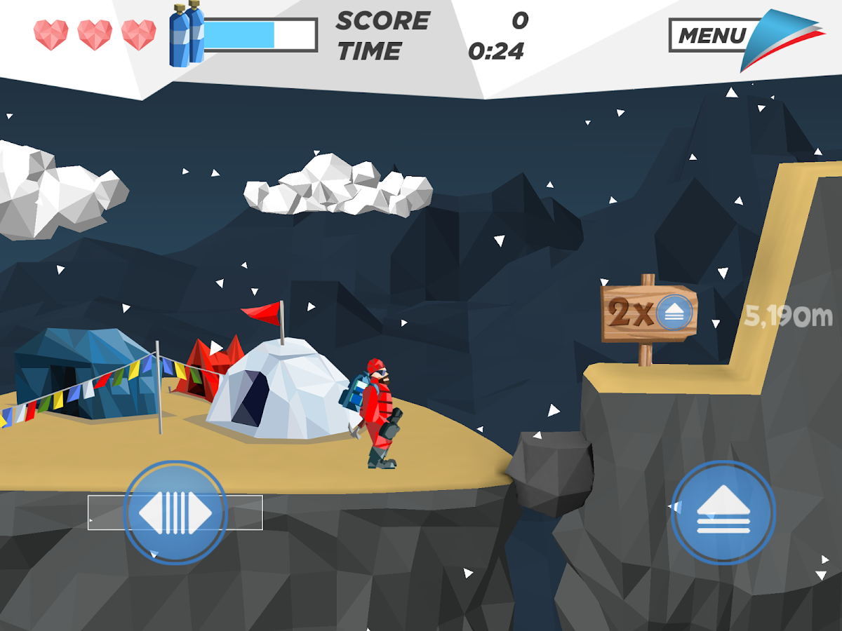 Everest Trash Collector – Screenshot