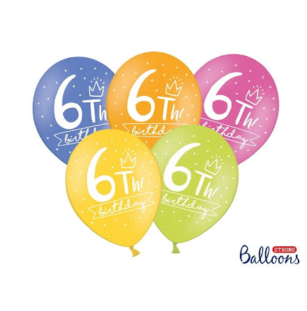 Ballonger 6th birthday