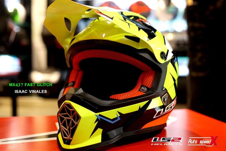 หมวกกันน็อค LS2 MX437 FAST ISAAC VINALES