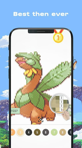 Color by Number - Pokees 3.9 screenshots 5