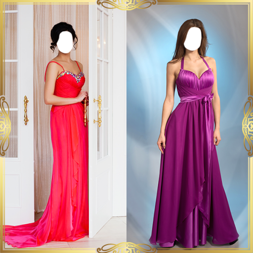 Evening Gown Photo Montage Maker