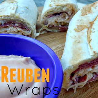 Reuben Wraps Recipes