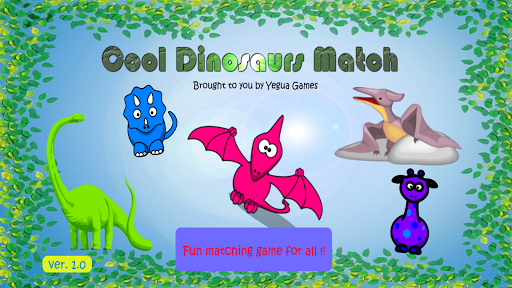 Cool Dinosaurs Match Game FREE