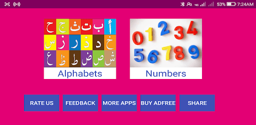 Learn Urdu Alphabets and Numbers - Apps on Google Play