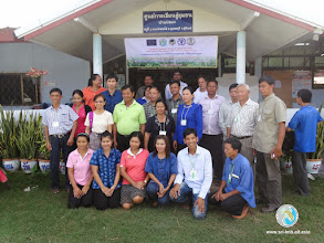 Photo: Group photo- Farmer Exchange Visit