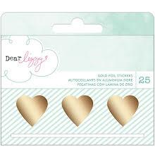 American Crafts Dear Lizzy Stickers 25/Roll - Fine & Dandy UTGÅENDE