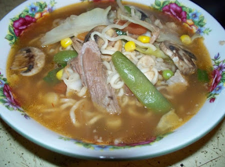 Asian Noodle Soup Recipe