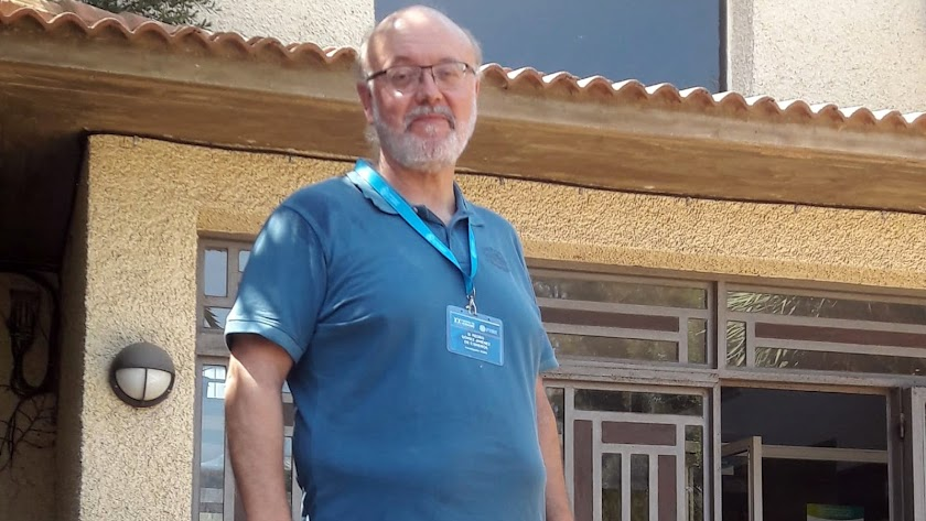 El investigador de IFAPA, Pedro Gómez.