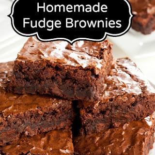 Fudge Brownie.