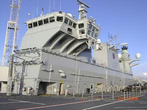Photo: HMS Ocean bridge