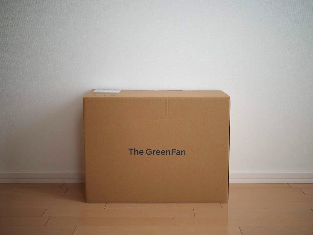 バルミューダザグリーンファンを買った