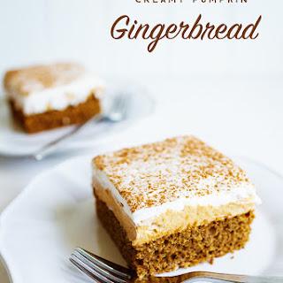Creamy Pumpkin Gingerbread