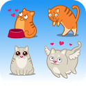 Cats emoticons icon