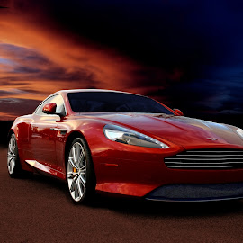 Aston by JEFFREY LORBER - Transportation Automobiles ( jeffrey lorber, rust 'n chrome, sports cars, car photos, exotic cars, lorberphoto, aston, caffeine and octane, aston martin )