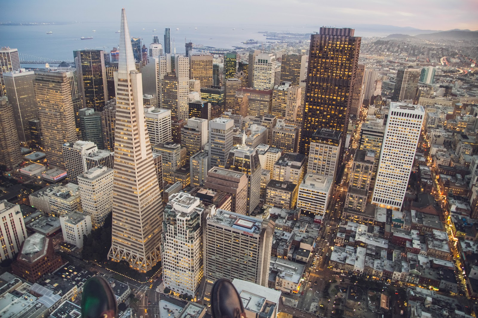 expensive city san Francisco aerial view