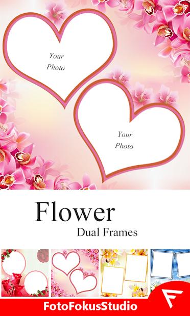 Dual Photo Editor : No crop Square Photo