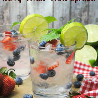 Berry White Wine Spritzer.