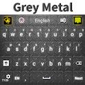 Grey Metal Keyboard icon