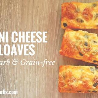 Coconut Flour Mini Cheese Loaves.