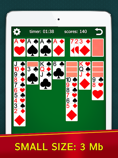 Classic Solitaire Klondike - No Ads! Totally Free! 2.05 screenshots 6