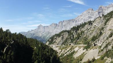 Photo: A gleccservájta kanyon Obwaldeni oldala