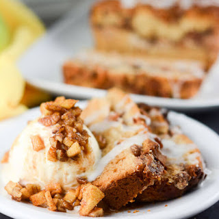 Apple Pecan Cream Cheese Cake.