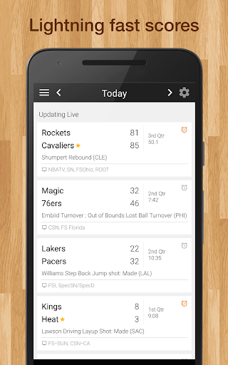 Bucks Basketball: Live Scores, Stats, Plays, Games 6.6.9 screenshots 1