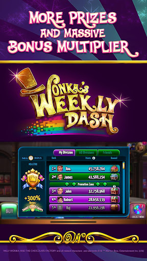 Willy Wonka Slots Free Casino screenshot 1
