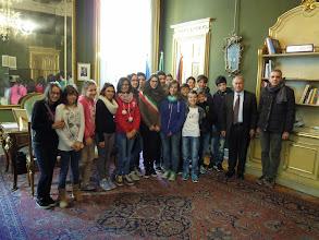Photo: 12/12/2014 - Il Consiglio comunale dei ragazzi del Comune di Priola (Cn) in visita al Consiglio regionale del Piemonte. In posa con il vicepresidente Nino Boeti.